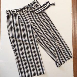 Cato wide leg crop pants